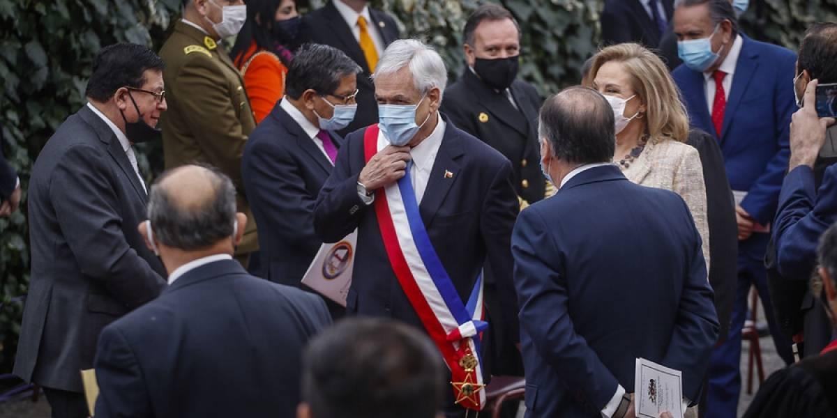 Presidente Piñera y Primera Dama, Cecilia Morel, asistieron a TeDeum Evangélico en Las Condes