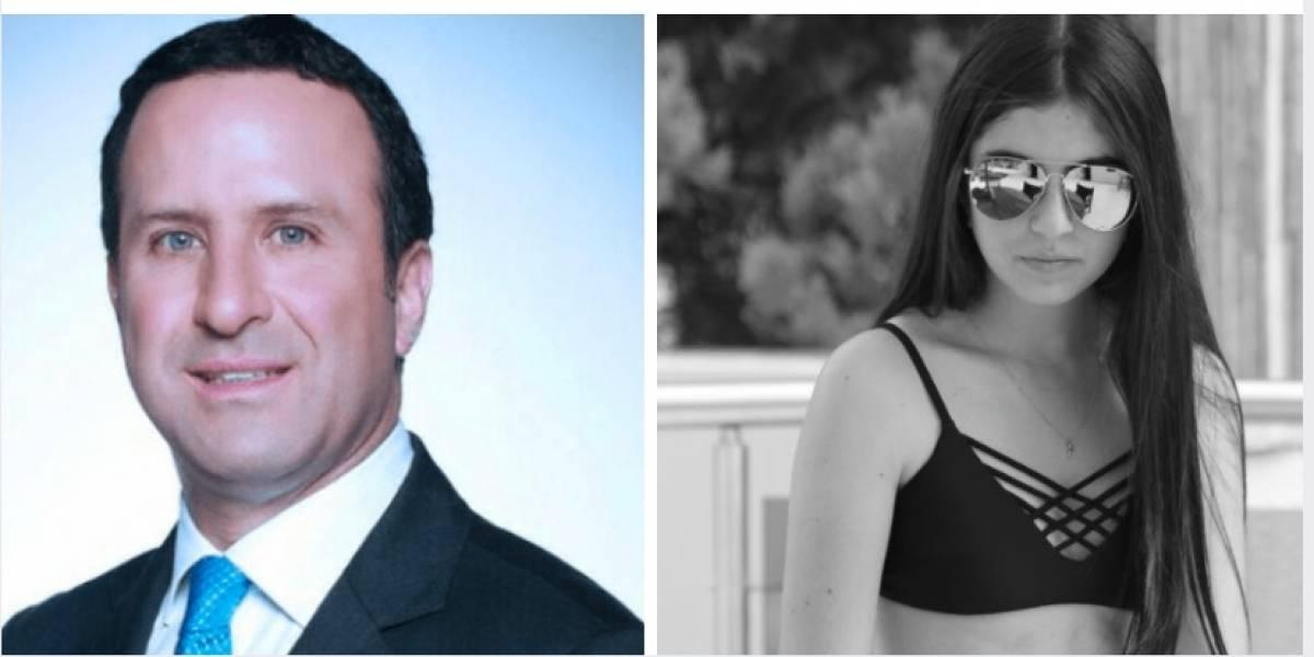 Felipe Arias hizo quedar mal a su hija, pero muchos se fijaron fue en su belleza