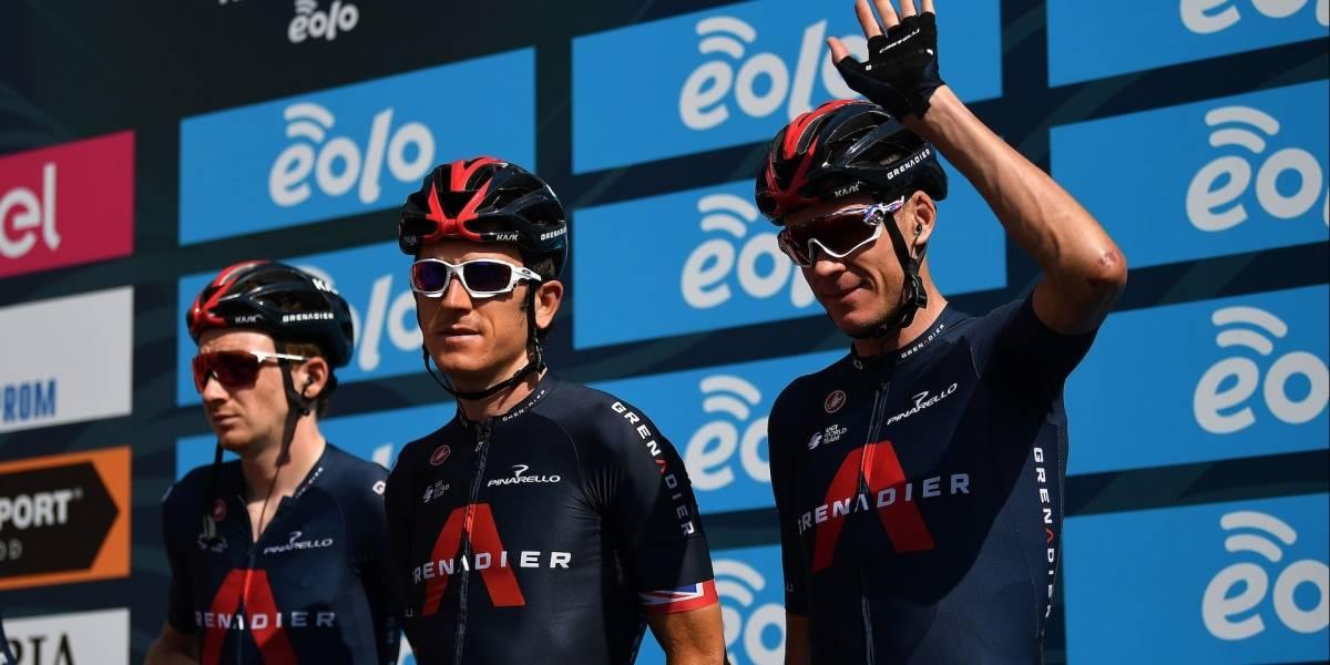 Mientras Egan sufre con sus gregarios en el Tour, Thomas y Froome se destacan en la Tirreno Adriático