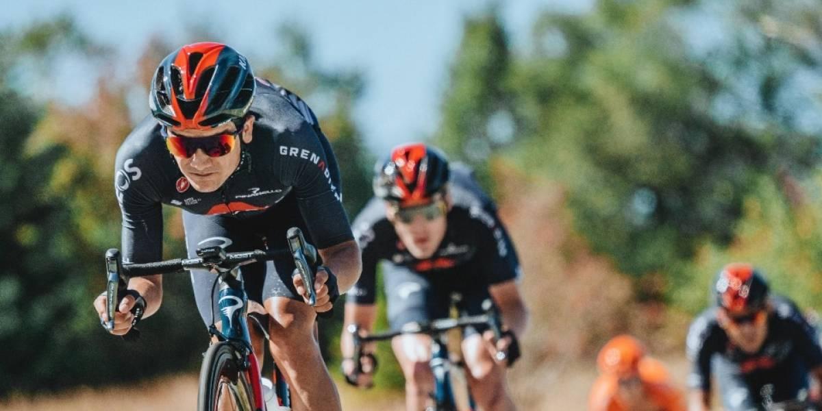 Richard Carapaz sufrió una caída durante la etapa 15 del Tour de Francia