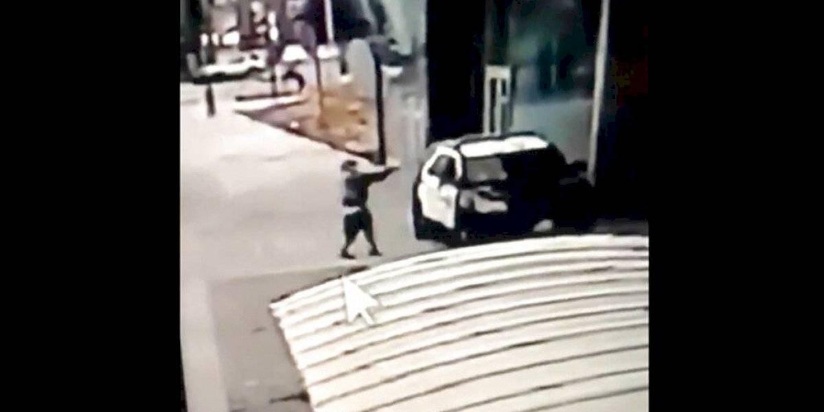 Dos policías son atacados por un tirador durante aparente emboscada en Los Ángeles