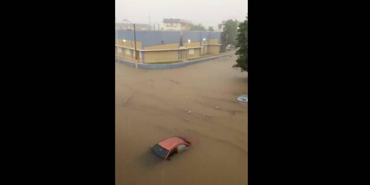 Desesperados residentes de Arecibo ante inundación