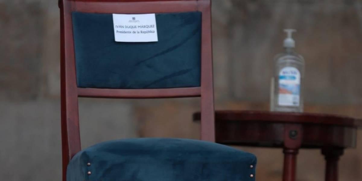 Presidente Duque le quedó mal a las víctimas y así le responden las familias