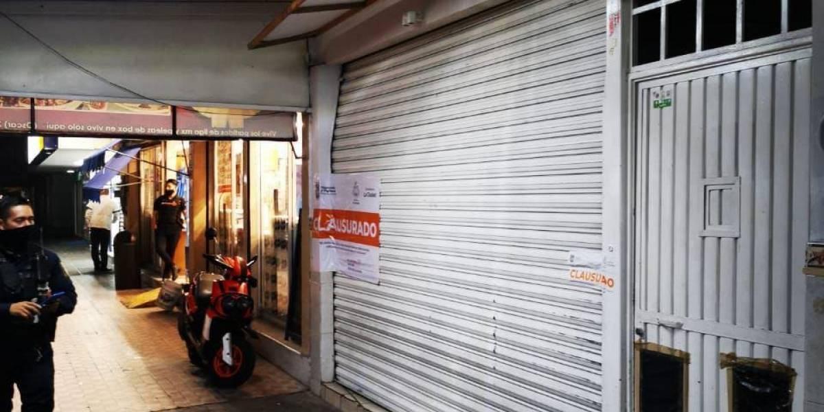 Clausuran 12 negocios en Guadalajara por diversas irregularidades