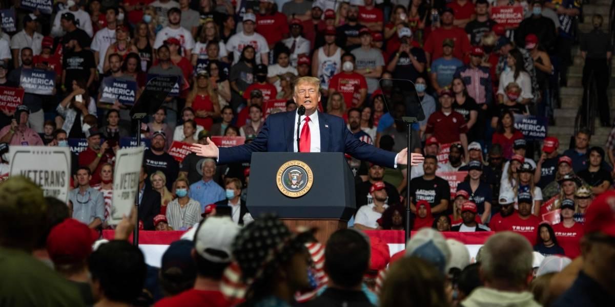 EEUU.- Trump celebra un mitin a puerta cerrada en Nevada violando así las normas del estado para frenar la pandemia