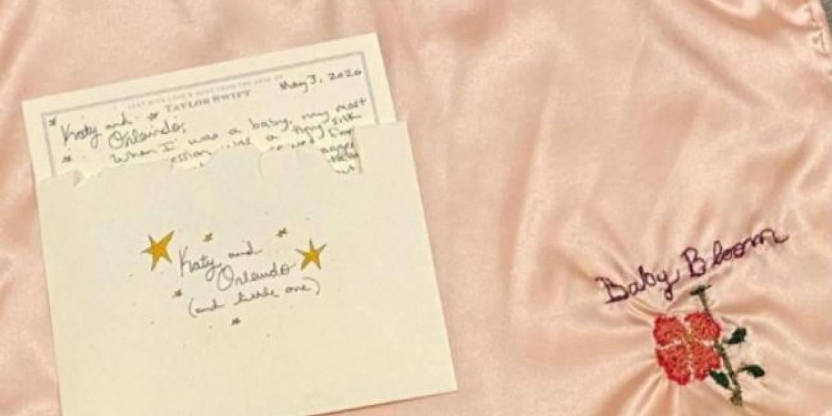 Katy Perry le agradece a Taylor Swift su bonito regalo para la pequeña Daisy