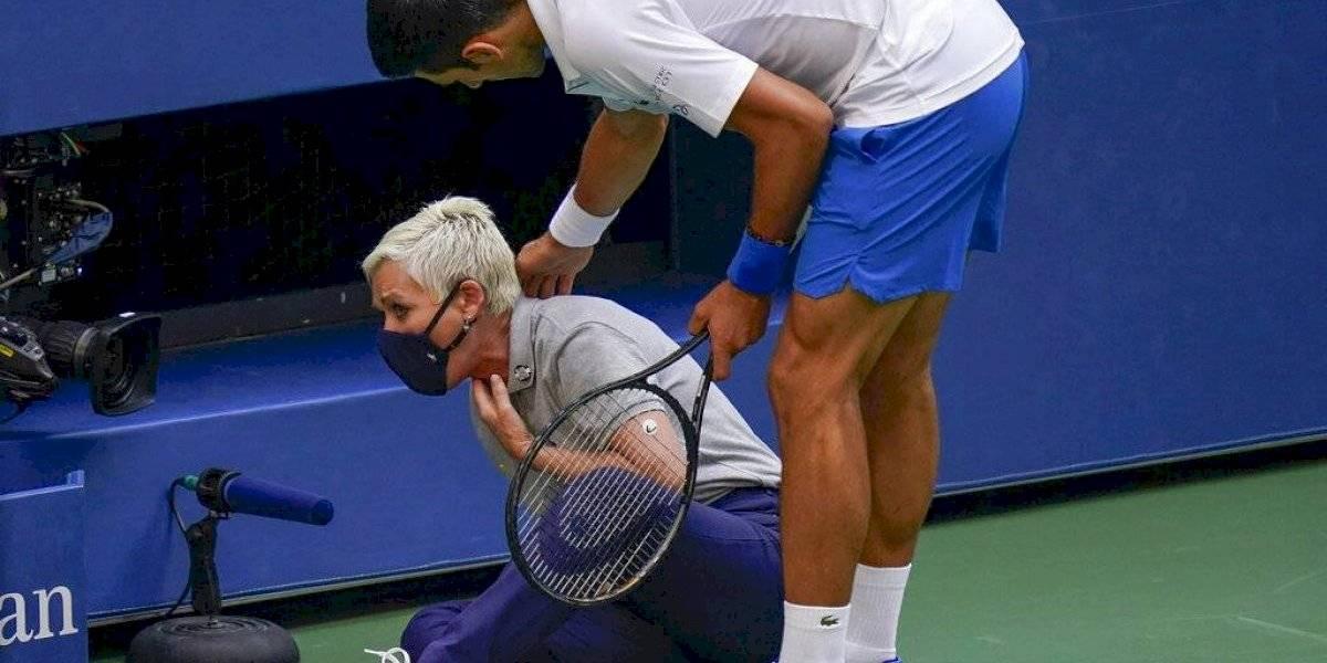"""Novak Djokovic: Incidente en el US Open me deja una """"enorme lección"""""""
