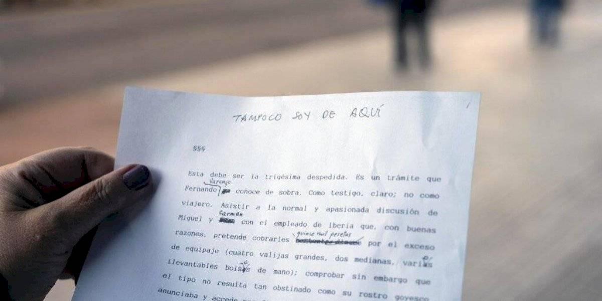 Fue por casualidad: hallan novela inédita de Benedetti