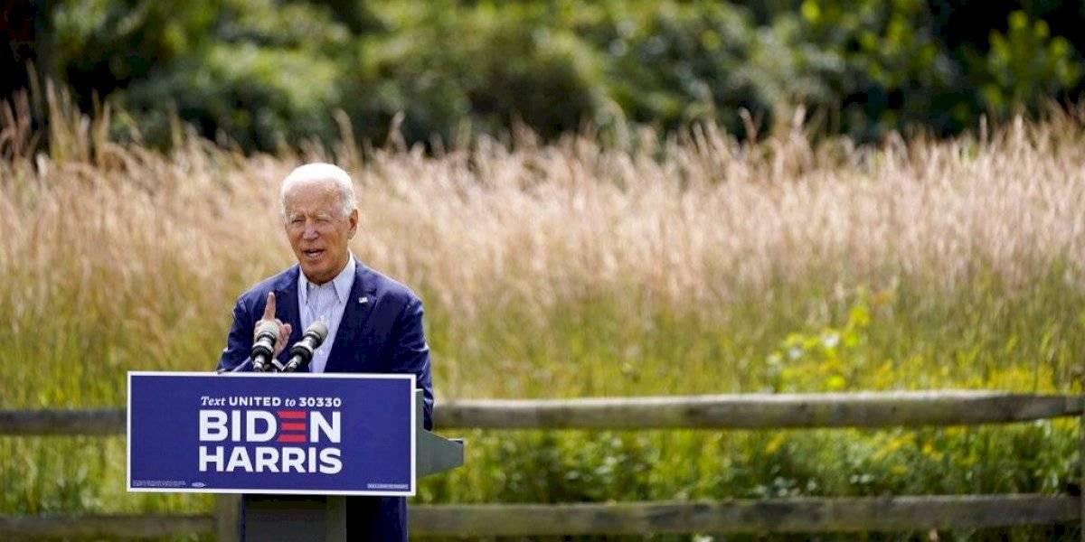 Biden augura crisis climática empeorará si Trump gana la reelección