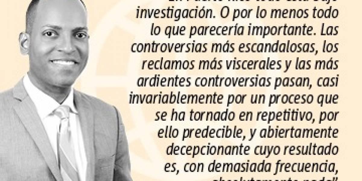 Opinión de Julio Rivera Saniel: Investigando la investigación. ¿Investigan?