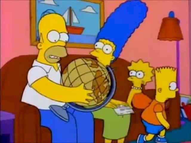Homero globo terráqueo