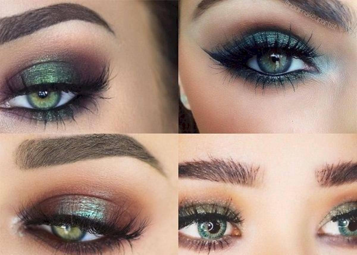 Ojos metalizados