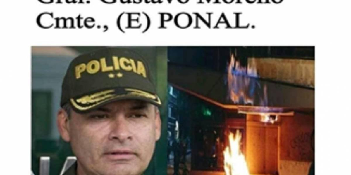 El titular falso que provocó indignación en Colombia