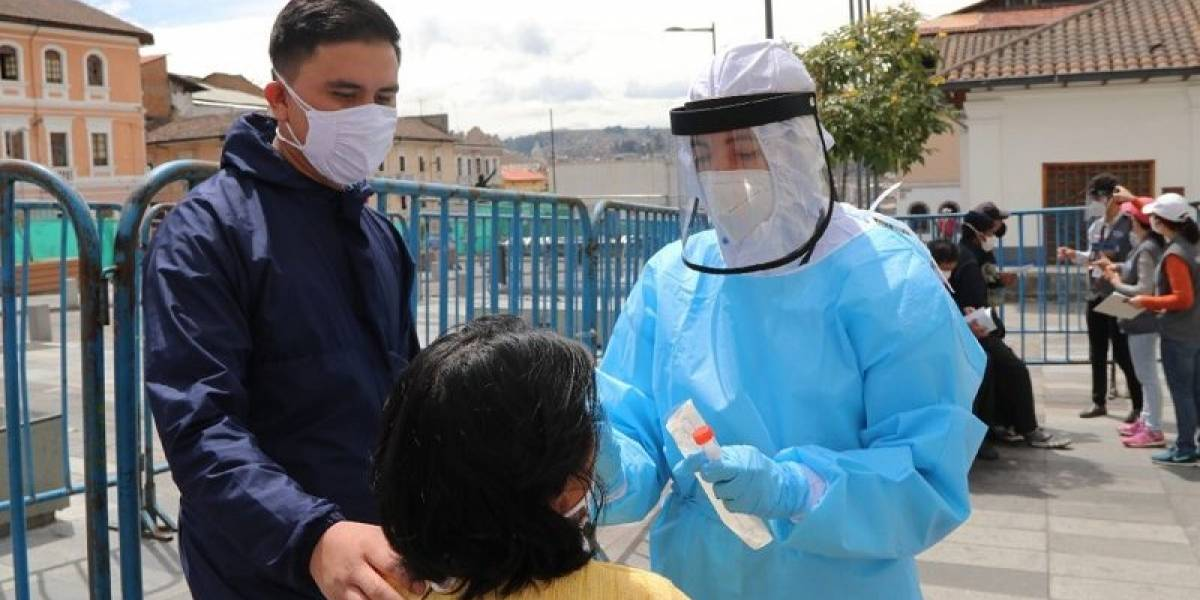 Triaje y toma de muestras COVID-19 en 28 barrios de Quito del 14 al 18 de septiembre
