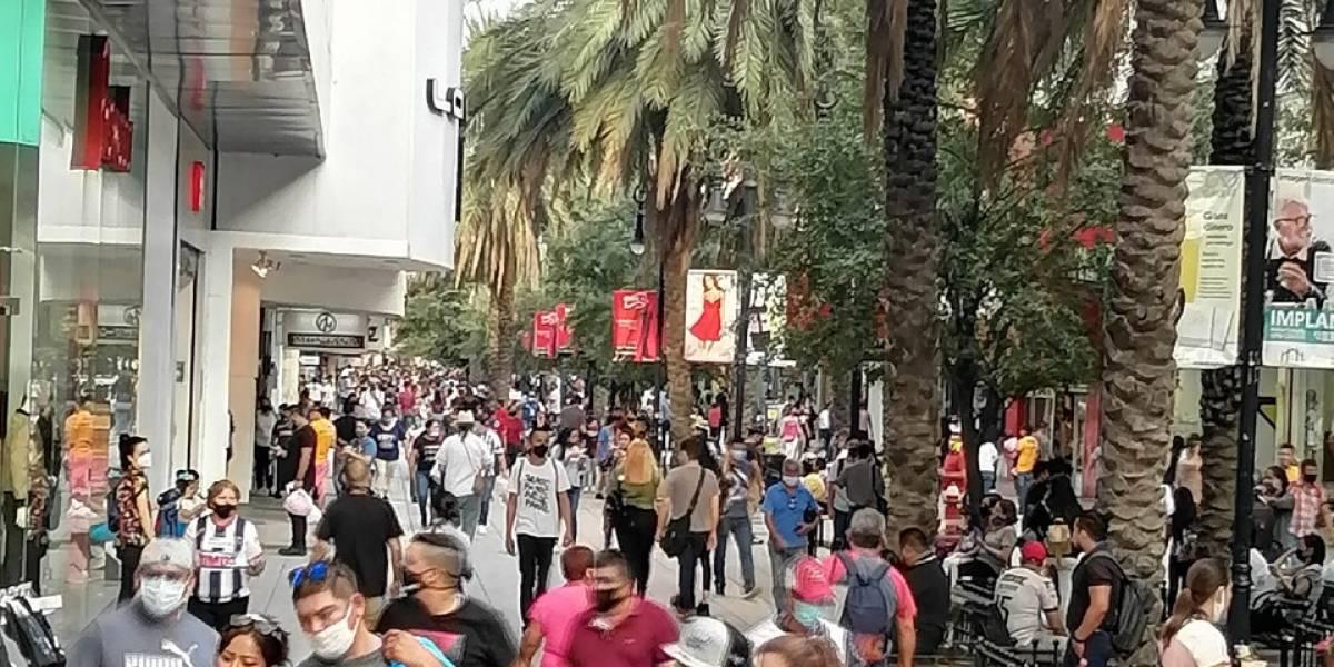 Sube movilidad en Nuevo León un 85%