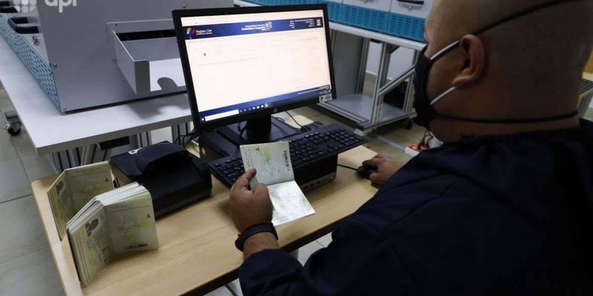 Nuevo horario del Registro Civil para cumplir la demanda de emisión de pasaportes