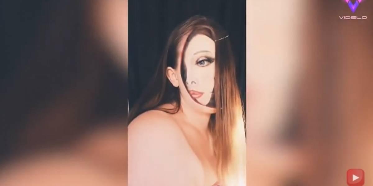 Desconecta.- Esta talentosa artista del maquillaje autodidacta crea ilusiones ópticas capaces de confundir tu mente