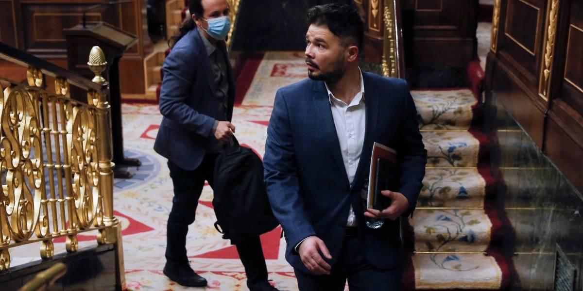 España.- Iglesias se ve por su cuenta con ERC y Bildu mientras Calvo sigue con su ronda para hablar de Presupuestos