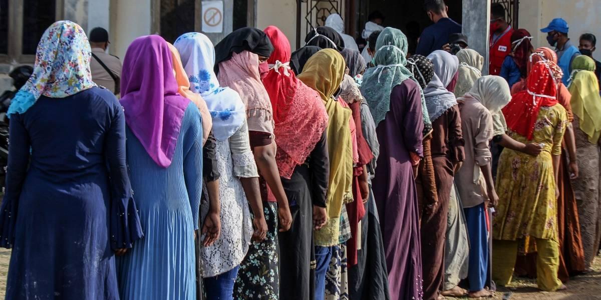 Asia.- Mueren tres de los refugiados rohingyas que llegaron a Indonesia tras siete meses en el mar