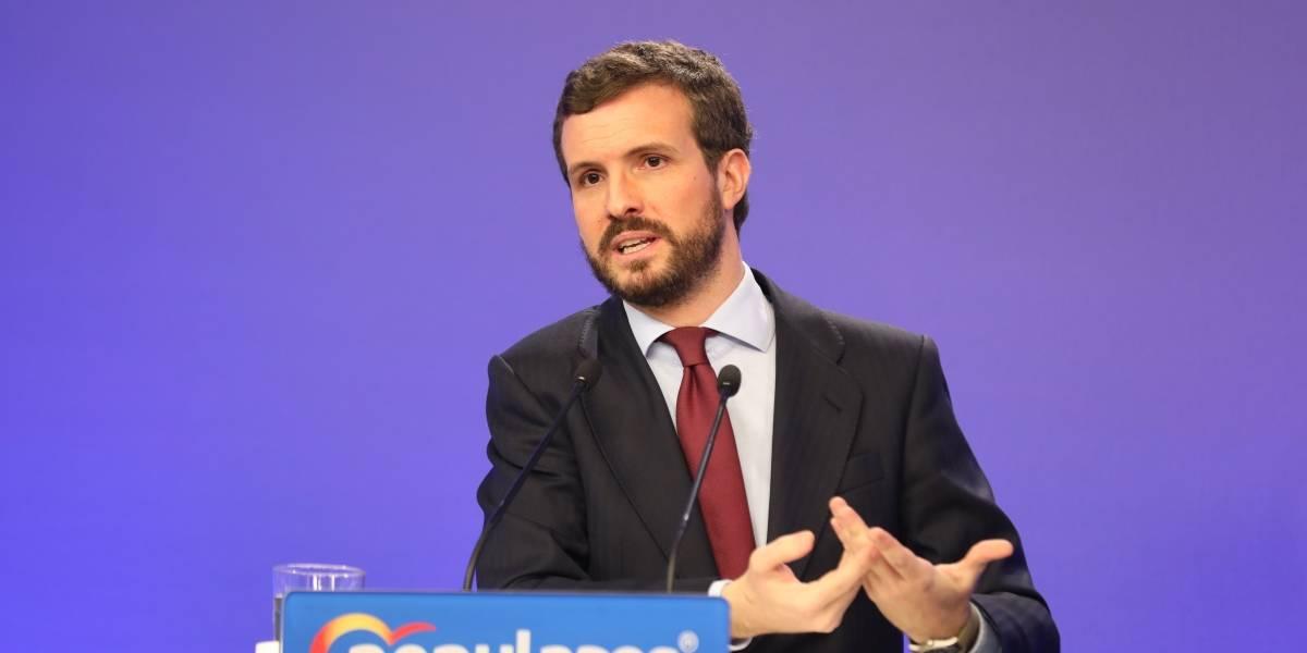"""España.- Casado denuncia que la Fiscalía """"se dedique a defender al Gobierno"""" cuando hay que investigar su """"negligencia"""""""