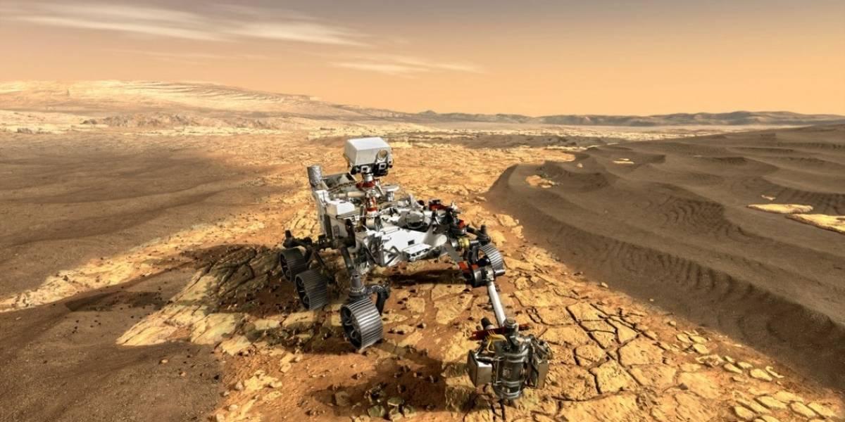 Ciencia.-Fluidos ácidos pudieron borrar toda biofirma en las arcillas de Marte