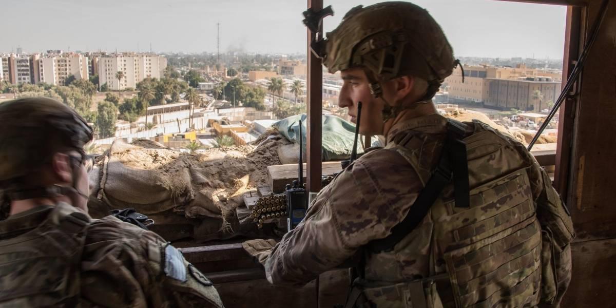 Irak.- Atacado con bomba un convoy de vehículos diplomáticos de Reino Unido en la capital de Irak