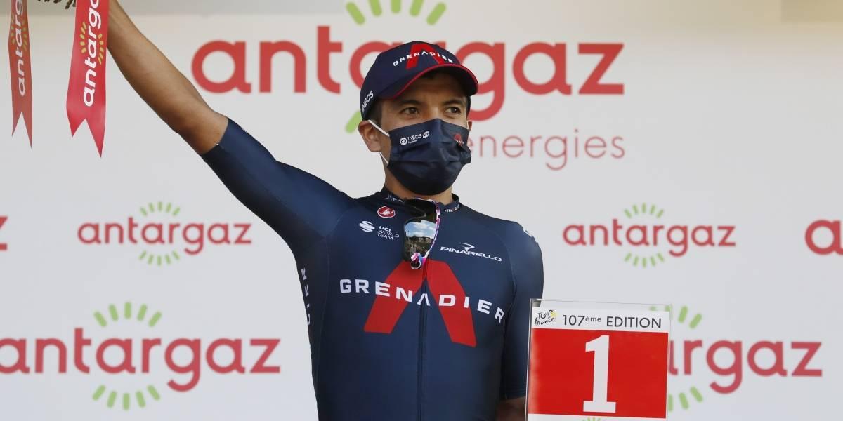 """""""Intenté la victoria, pero Kamna estaba muy fuerte"""": Richard Carapaz tras llegar segundo en la etapa 16 del Tour de Francia"""