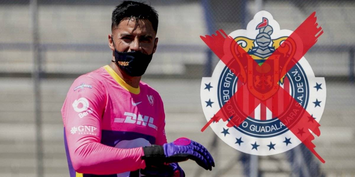 Chivas, el equipo que rechazó a Talavera y ahora sufre en la portería