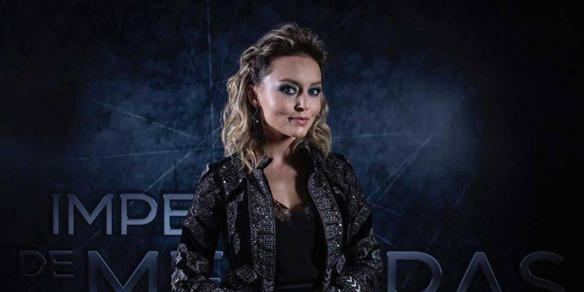 """Angelique Boyer presenta a su personaje en """"Imperio de Mentiras"""" de una forma muy especial"""