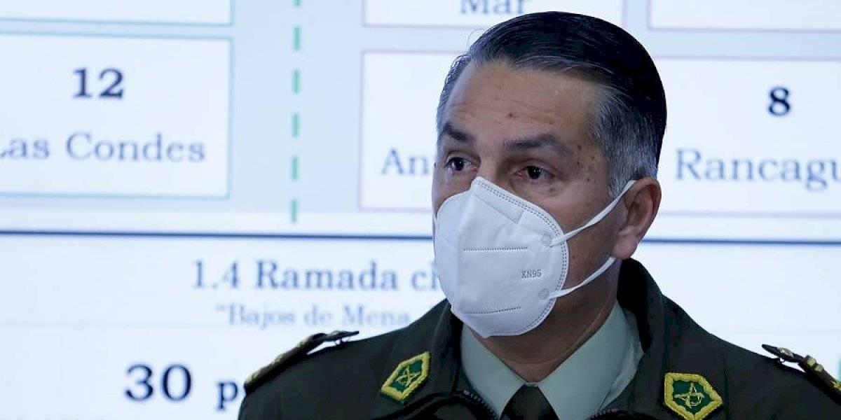 """General Mario Rozas por investigación de Contraloría: """"En el último tiempo hay muchos estrategas policiales"""""""