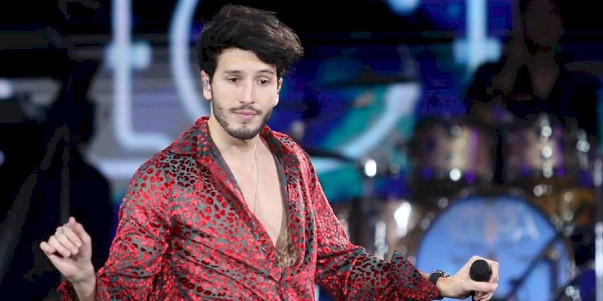 """Sebastián Yatra disfrutó con """"Santería"""" el nuevo hit de Denise Rosenthal"""