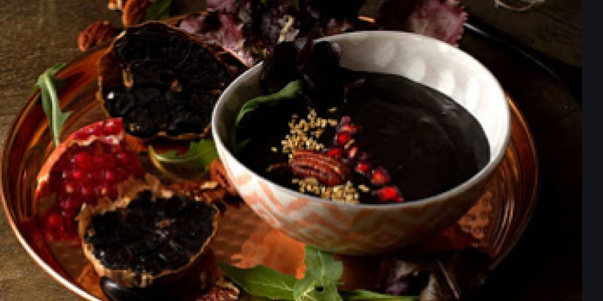 Prepara en casa esta crema de ajo negro y obtén sus beneficios