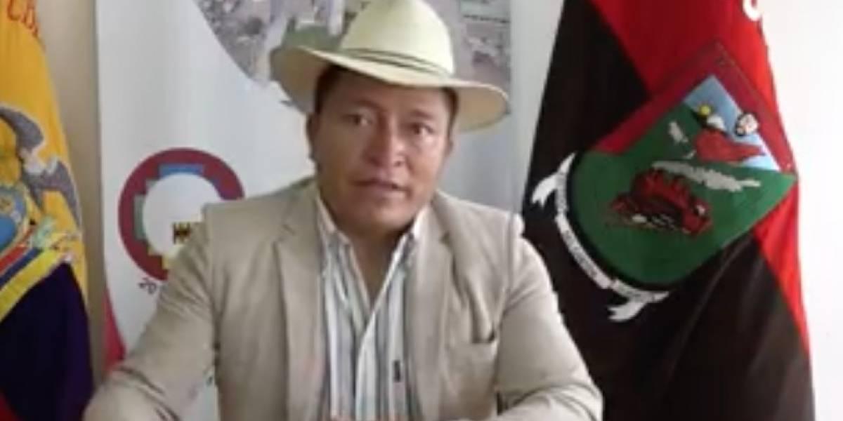 Dictan medidas alternativas contra Delfín Quishpe por presunto tráfico de influencias
