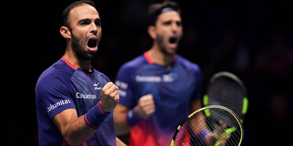 Con contundente victoria, Cabal y Farah empezaron la defensa del título del Masters de Roma