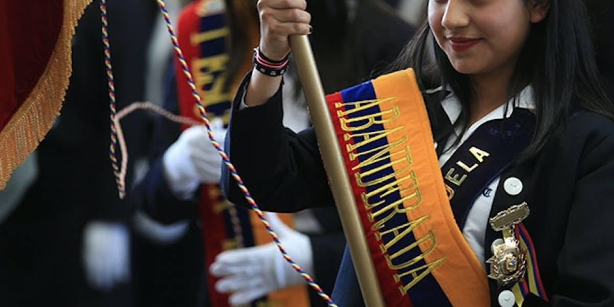 Juramento a la Bandera solo se realizará de forma virtual, aclara Ministerio de Educación