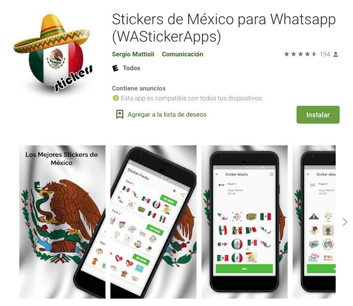 WhatsApp Stickers México