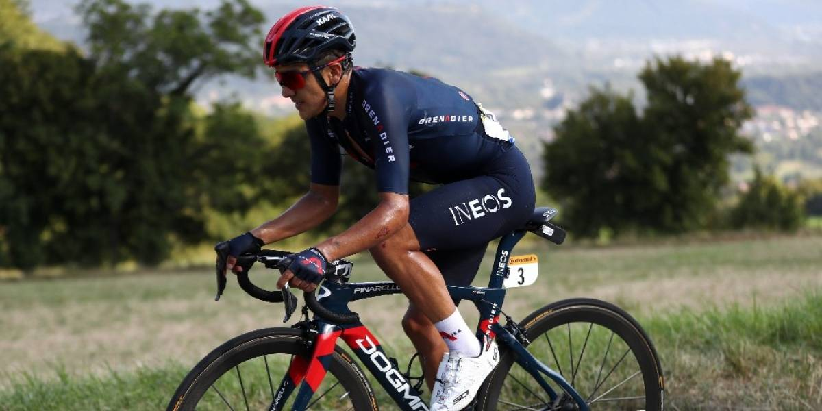 Richard Carapaz llegó segundo en la etapa 16 del Tour de Francia