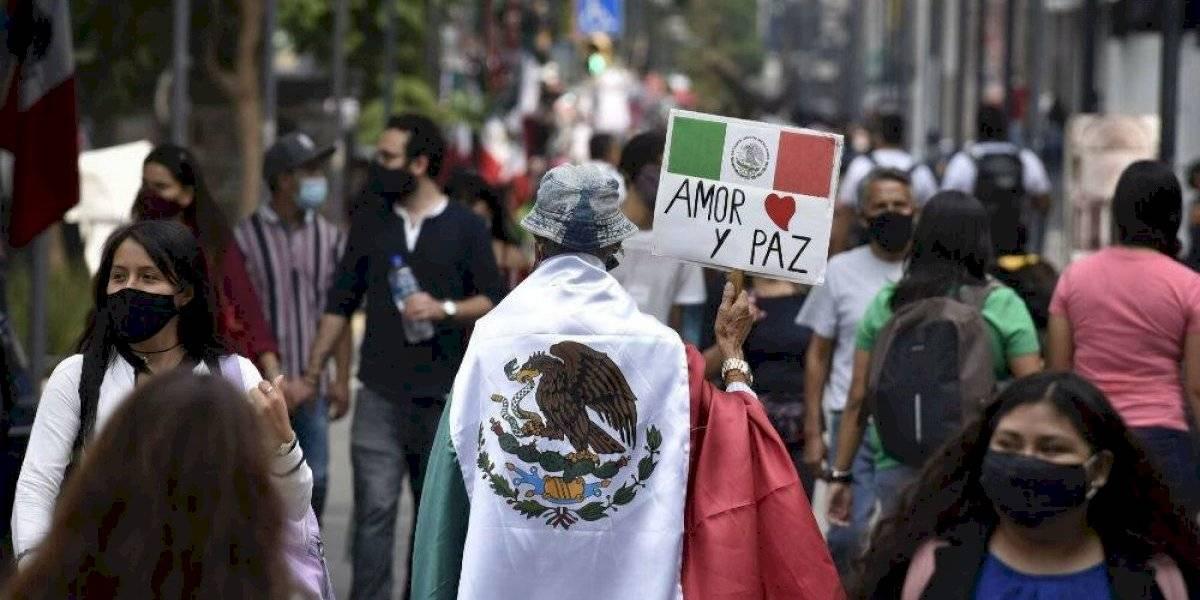 México llega al Grito de Independencia con 676,487 casos de Covid-19