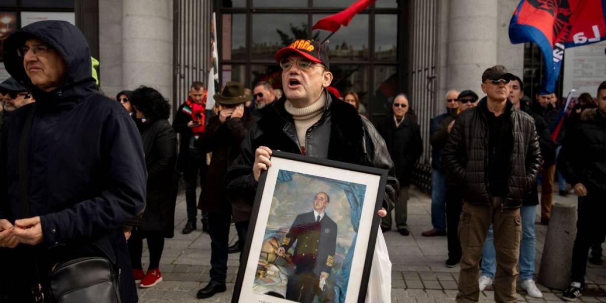 Gobierno de España presenta proyecto para prohibir la glorificación del dictador Francisco Franco