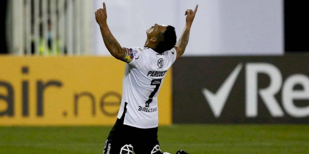 Conmebol destaca a Esteban Paredes y publica video con sus 21 goles en la Copa Libertadores por Colo Colo