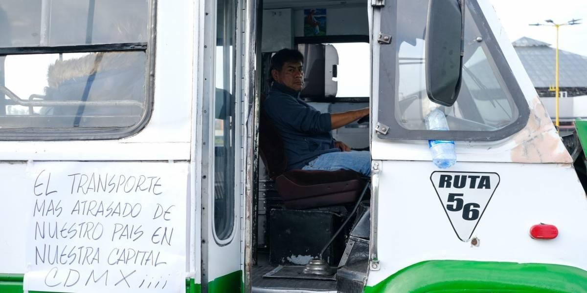 ¿Adiós a los microbuses, por fin? Gobierno anuncia incentivos de chatarrización para transportistas