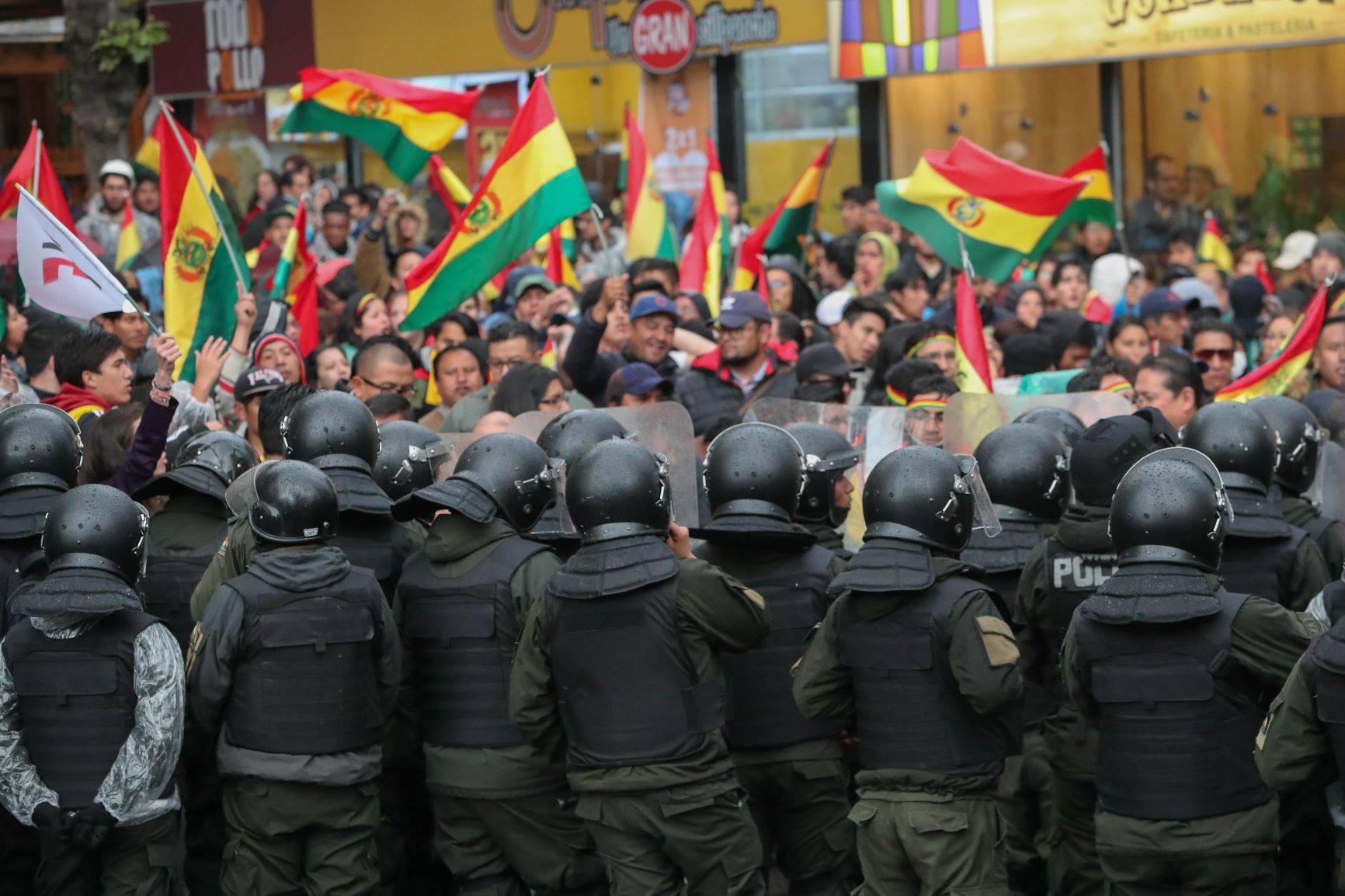 Las protestas en Bolivia terminaron con la caída de Evo Morales