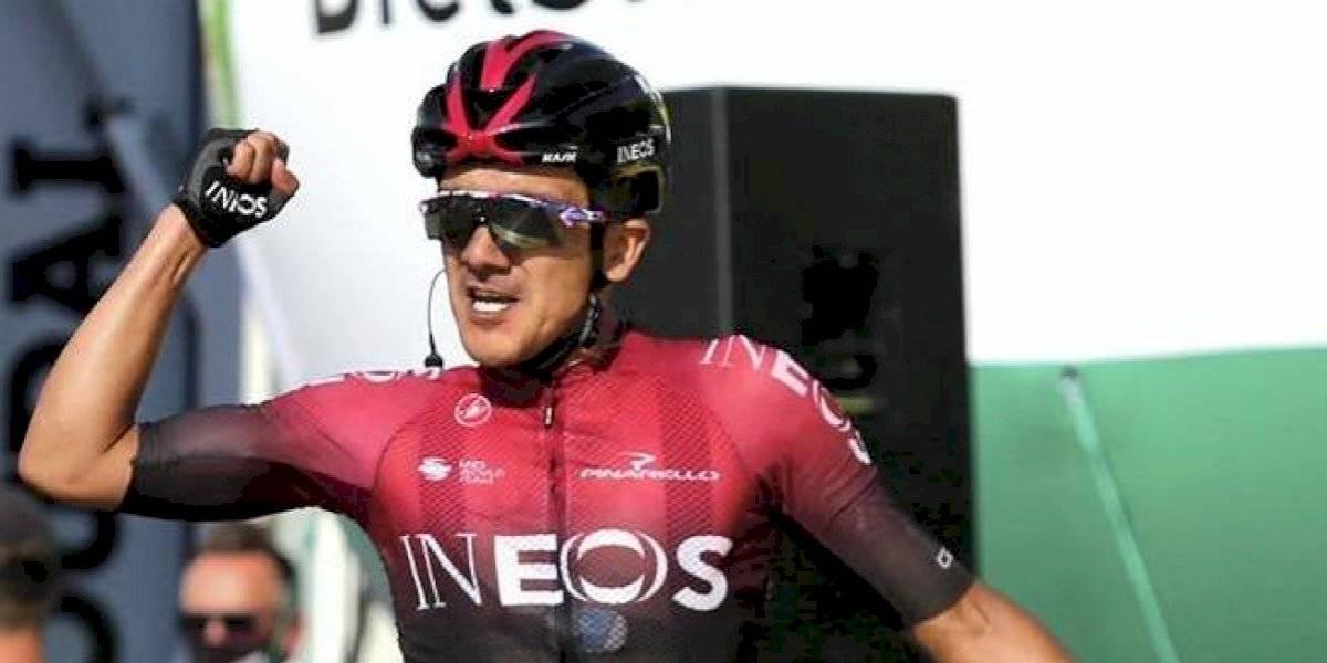 ¡Como un colombiano! Ecuatoriano Carapaz hizo vibrar parte del país en etapa del Tour