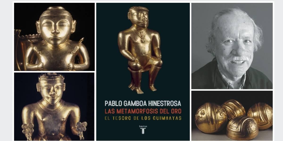 Pablo Gamboa pide que España devuelva el Tesoro de los Quimbayasen 'La metamorfosis del oro'