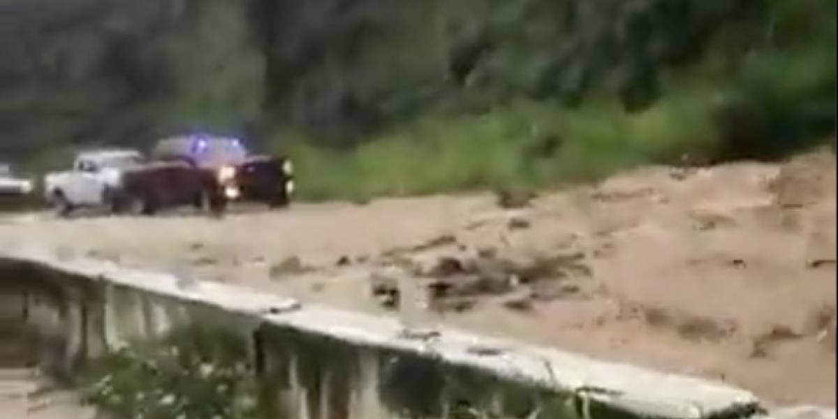 Emergencia en Utuado: Clausurada la PR-10 por fuertes lluvias e inundaciones
