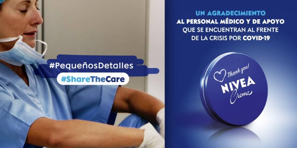 Nivea Ecuador brinda apoyo al personal de hospitales y centros de atención de COVID-19