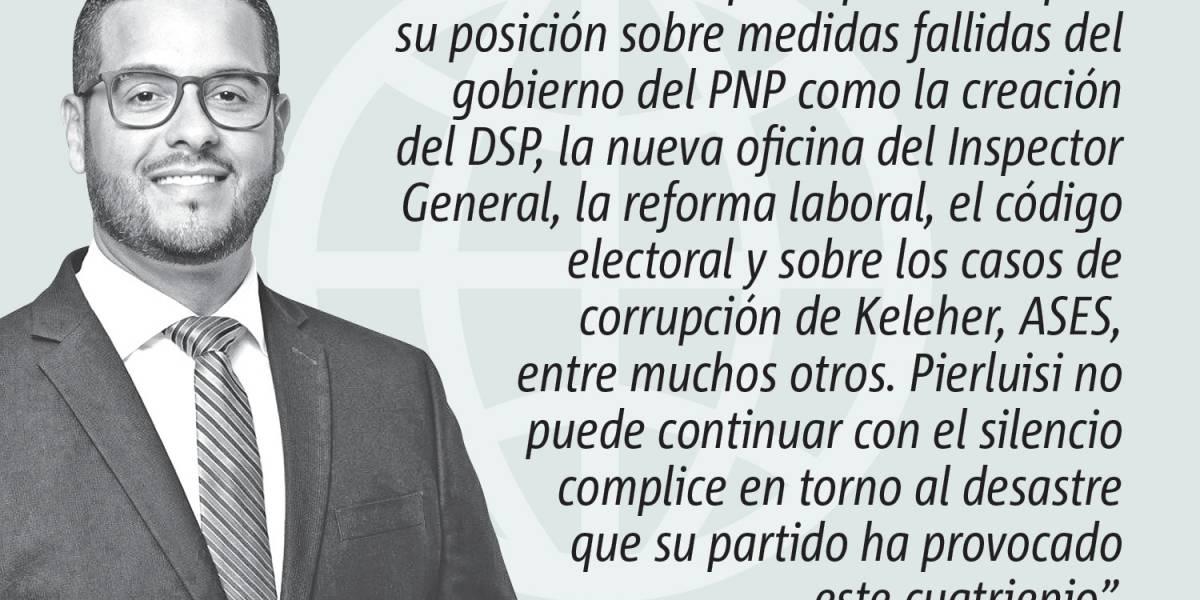 Opinión de Jesús Manuel Ortiz: El silencio de Pierluisi