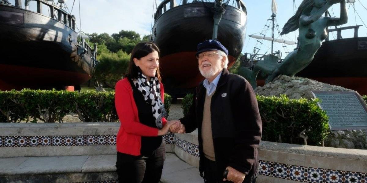 """México.- La alcaldesa de Santander pone en valor el """"trascendental legado"""" de Vital Alsar, al que prepara un homenaje"""