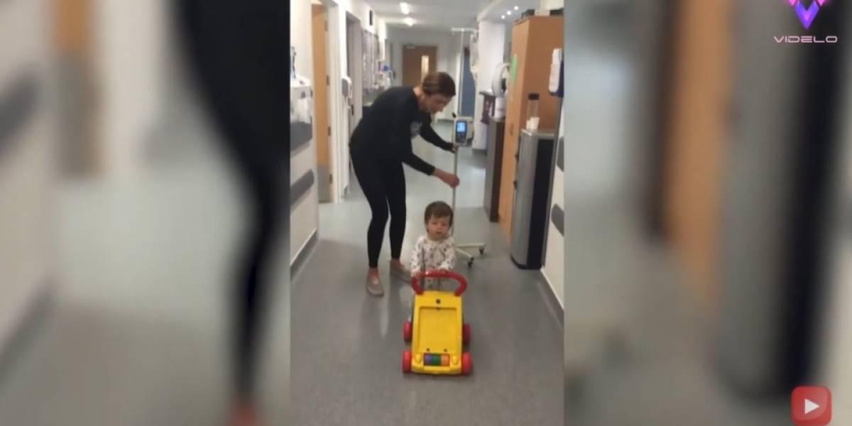Desconecta.- Un niño de cinco años toca la campana después de tres años de lucha contra el cáncer