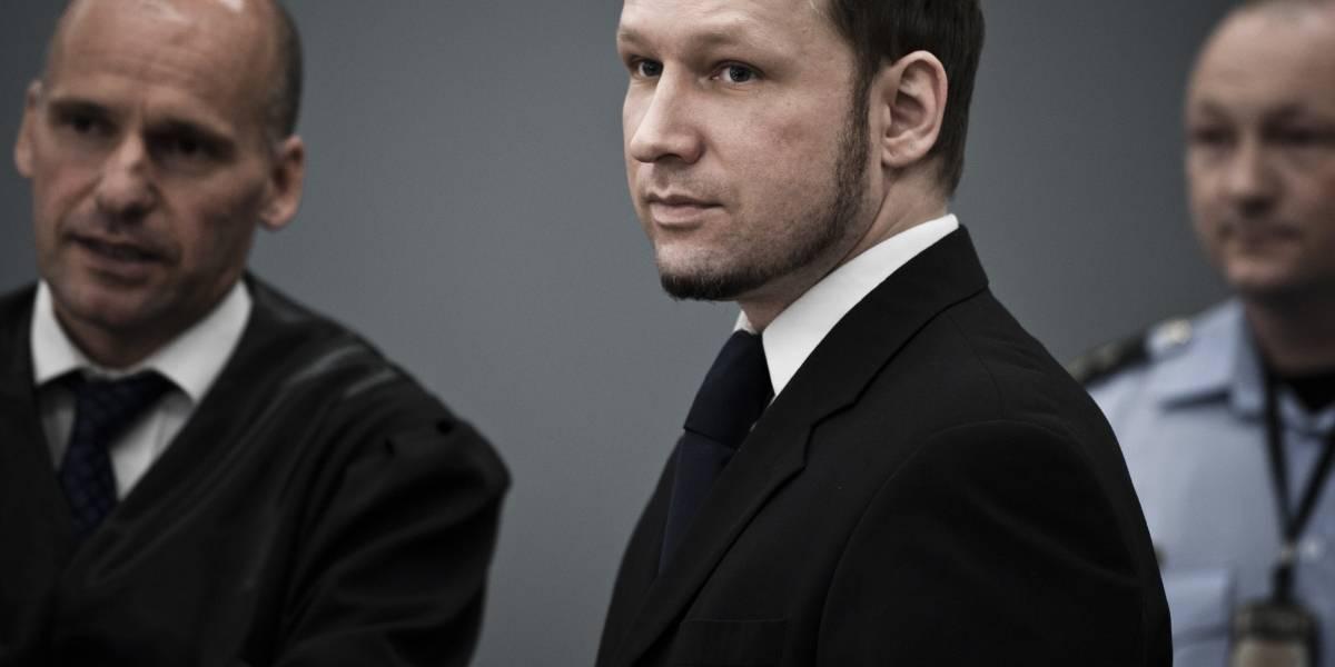 Noruega.- El ultraderechista Breivik, autor de matanza de 77 personas en Noruega, solicita su libertad condicional